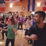 Dancing pro Louis Van Amstel leads fitness class in Vandalia