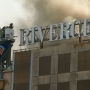 Demolition gone wrong ignites fire at Rivercenter Mall